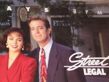 STREET LEGAL TV CANADA POSTER CYNTHIA DALE PETERSON JOHNSON DEL MAR SCHULTZ 1993