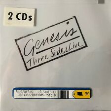 Three Sides Live by Genesis (UK) (CD, Oct-1994, 2 Discs, Atco (USA))