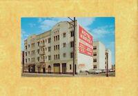 CA Hollywood 1960s era postcard HOTEL HARVEY 5640 Santa Monica BLVD