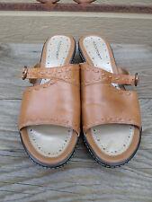Rockport Tan Leather Sandals Women's 6 W