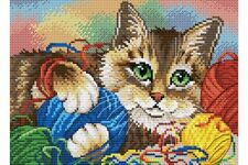 MP Studia Counted Cross Stitch Kit with Aida Threads and Chart - Craft Set