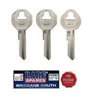 HOLDEN KEY BLANKS X 3  IGNITION & BOOT FX FJ FE FC FB EK EJ EH HD HR HK HT HG LC