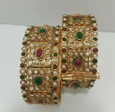 Indian Custom Bridal Bracelet Bollywood  Bangle brass gold high quality