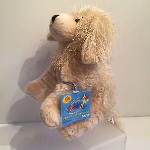 Ganz Webkinz GOLDEN RETRIEVER Plush Stuffed Animal w/ Attached Code