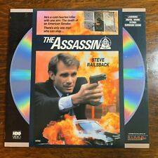 Laser Disc ~ THE ASSASSIN ~ Steve Railsback