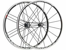 """New -Campagnolo Eurus Wheelset black-white/28"""" set (front + rear) clincher Campy"""
