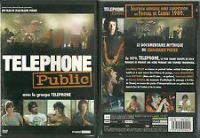DVD - TELEPHONE PUBLIC avec LE GROUPE TELEPHONE / AUBERT / BERTIGNAC / KOLINKA