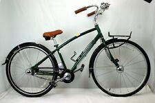 "Raleigh Coasting Cruiser Bike 16"" Medium 700c 2000s Auto Shifting Steel Charity!"