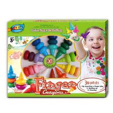 30 Finger Crayons Box Set Build Functional Finger Grasps & Fine Motor Skills Kid