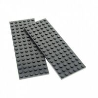 Lego 91988 Bauplatte 2x14 Neu Hellgrau Neu Dunkelgrau oder Blau 1 Stück 47