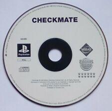 * Disk nur * Schachmatt Check Mate Schach Playstation 1 One ps1 PSOne PS PSX