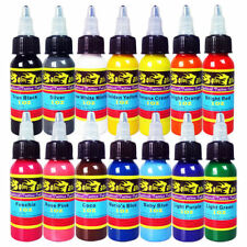 Professional Tattoo Ink Kit 14 Colors 1oz 30ml Tattoo Pigment Set  TI301-30-14