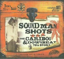 Sound Man Shots Caribou and Downbeat 78's Story CD NEW SHRINK-WRAPPED