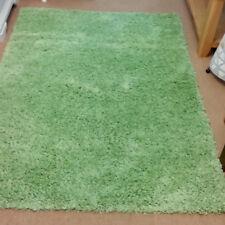 Soft Plain Shaggy 4cm Pile Rug Quality Non Shed Modern 120x170cm Green