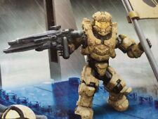 MEGA BLOKS HALO ENFORCER SPARTAN Minifigure Tan from Fireteam Rhino