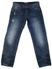 LONDON JEAN midrise loose boyfriend distressed VICTORIA SECRET jeans US4 8x32!