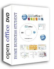 NEW APACHE OPEN OFFICE SOFTWARE SUITE CD / DVD 2018