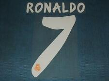 Spanish La Liga  2013-2014 Real Madrid #7 Ronaldo Awaykit NameSet Printing