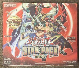 Yu-Gi-Oh! Star Pack Arc-V Trading Card Game Konami 50 Packs Sealed New
