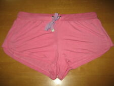 New HONEYDEW Intimates Super Soft Stretch Rayon Lounge Sleepwear Shorts L Pink