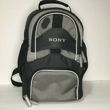Sony Backpack Camera Bag Black and Gray Adjustable Shoulder Strap included