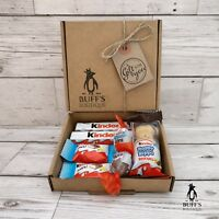 PETITE Kinder Chocolate Hamper Selection Mix Gift Box Present Treat Personalised