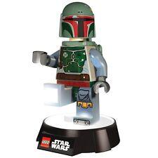 Official LEGO Star Wars Boba Fett LED Night Light Torch Lamp Flashlight - Boxed