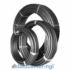 "PE-Rohr DN32 Durchmesser 32mm (1"" Zoll) Ring a 5m  12,5m  25m  50m  Länge"