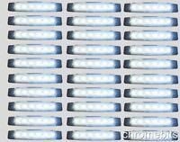 100 pcs WHITE 24V 6 LED Side Rear Marker Front Lights VOLVO DAF MAN SCANIA