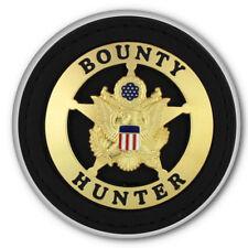 "BOUNTY HUNTER HALLOWEEN COSTUME PROP 3"" PIN BACK BUTTON"