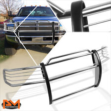For 94-01 Dodge Ram 1500-3500 Front Bumper Brush Grille Guard Protector Chrome