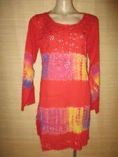 Boho Tie Dye 100% Cotton Dresses for Women
