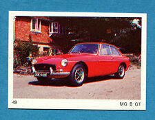 AUTO E MOTO - Figurina-Sticker n. 49 - MG B GT -New
