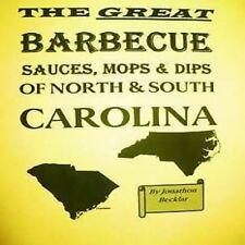 BBQ Sauces Brosse / Dips North And South Carolina Livre de Recettes Rare