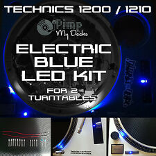 Technics 1200 1210 Eléctrico Completo Led Azul Kits X 2