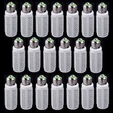20X 110V E27 108LED 7W LED Corn Light Bulb White Ultra Bright for Office Home