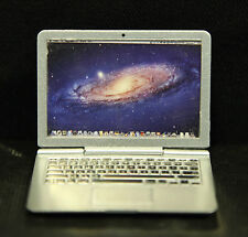 1/6th scale apple macbook for Steve Jobs Action Figure