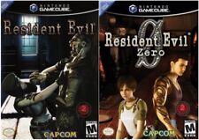 Resident Evil & Resident Evil 0 (Nintendo GameCube, 2002)