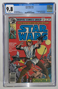 Star Wars #17 CGC 9.8 1978 White Pages
