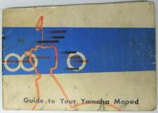 YAMAHA MF2 MJ2 Moped Owners Handbook late 1960s 50cc/55cc
