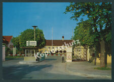 orig AK Luftwaffe Bundeswehr Fliegerhorst Kaufbeuren Eingangstor Wachposten 1966