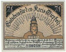 Notgeld -  Kreis Diepholz - 75 Pfennig 1921 - Serie B / Bild 4