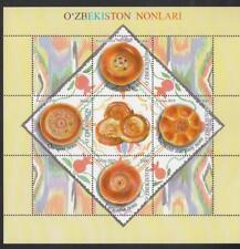 Uzbekistan Usbekistan 2019 MNH** Mi. 1342-45 Bl.93 Gastronomy Usbekistan Bread