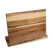 Universal Chef Wood Magnetic Knife Block Knife Cutlery Holder Stand Rack Bar Hot