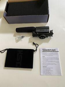 Takstar SGC-598 Shotgun Video Interview Recording Microphone Mic