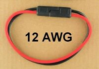 Premium SAE 2 Power Quick Connect 12 AWG Wire Waterproof NON-TOXIC 12V 14 Volt