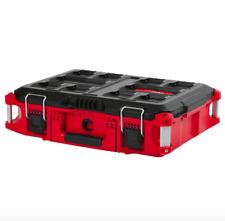 Milwaukee Portable Small Parts Organizer Compartment Bins Tool Box Storage Latch
