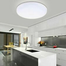 New Listing24w Led Surface Mount Fixture Ceiling Light Bedroom Kitchen Round Panel Lights