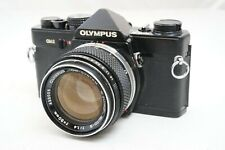 [AS-IS]Olympus OM-2 Black 35mm Film Camera SLR w/50mm F/1.4 Lens From Japan