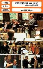 FICHE CINEMA : PROFESSEUR HOLLAND - Dreyfuss,Headly 1995 Mr. Holland's Opus